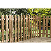 3FT Palisade Round Top Fencing Panel - 1 Panel Only