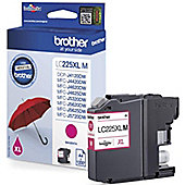 Brother LC225XL High Yield Inkjet Cartridge (Magenta) 1,200 Page Yield