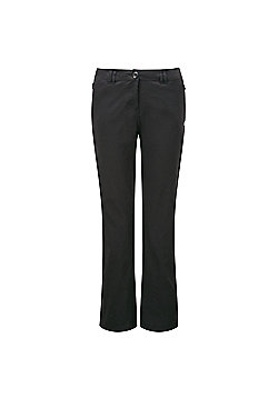 Craghoppers Ladies Kiwi Pro Stretch Hiking Trousers - Black