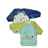 Mothercare Dinosaur Coverall 2 Pack