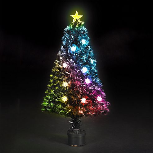 Fiber Optic Christmas Tree 4ft