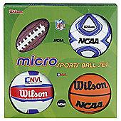 Wilson Micro Sports 4 Ball Set