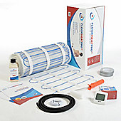 2.5m² - FLOORHEATPRO™ Electric Underfloor Heating Kit - 200w/m² - 500 watts  including Touchscreen Thermostat  - For use under tile floors