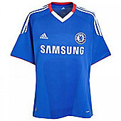 2010-11 Chelsea Adidas Home Shirt - Blue