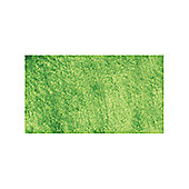 Angelo Bergamo Bright Green Woven Rug - 200cm x 140cm (6 ft 6.5 in x 4 ft 7 in)