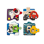 Plan Toys Vehicle Puzzle - Toys/Games