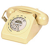 Geemarc Mayfair Retro Style Two Piece Corded Telephone - Cream