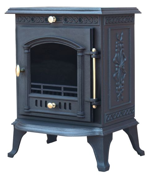 LA HACIENDA 'BOW' WOOD BURNING STOVE