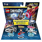 LEGO DIMENSIONS LEVEL PK BACK TO THE FUTURE