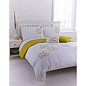 Linea Allium Double Duvet Cover Set In Multi