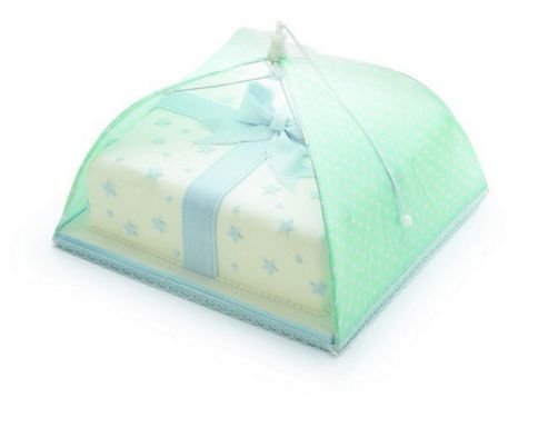 30cm Green Polka Dot Umbrella Cake Cover