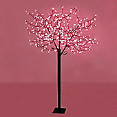 1.8m Outdoor LED Cherry Blossom Tree with 384 Red LED's