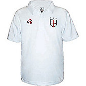 Respect England Kids Home Football Soccer Shirt - White