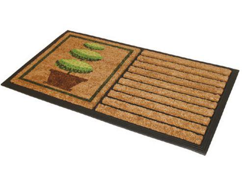 JVL 02-154 Tuffscrape Doormat Garden Asstd
