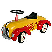 "Great Gizmos Speedster Car 30"" x 14""."