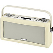 VIEWQUEST HEPBURN DAB/DAB+/FM RADIO WITH BLUETOOTH (CREAM)