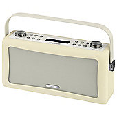 Viewquest Hepburn DAB/DAB+/FM Bluetooth Radio, Cream