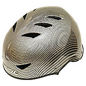 HardnutZ Black Carb Helmet Medium54-58cms