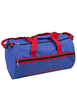 Dunlop Blue & Red Training Sports Holdall Gym Travel Kit Bag