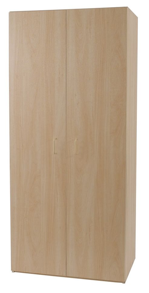Alto Furniture Elemental Woodgrain 2 Door Wardrobe