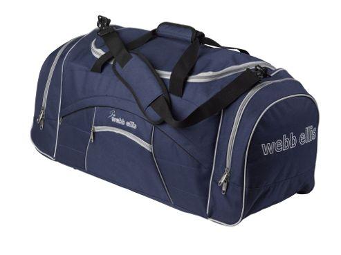 Webb Ellis Proteus Sports Gym Kit Bag Holdall, Blue