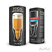 Final Touch Lager Beer Drinking Glass 50 Calibre Bullet Shell