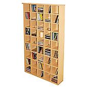 Techstyle CD Storage Shelves - Beech