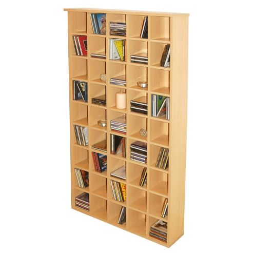 Techstyle CD Storage Shelves - Beech