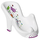 Hippo Baby Bath Support White