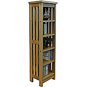 Mission - Solid Wood Cd / Media Storage Shelves - Light