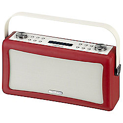 Viewquest Hepburn DAB/DAB+/FM Bluetooth Radio, Red