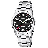 M-Watch Aero Mens Stainless Steel Day & Date Watch A667.30408.02