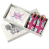 Daisy Roots Union Jack Gift Set - Pink - Pink