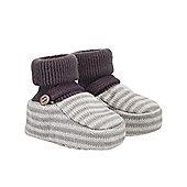 Stripe Knitted Socktops