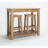 Ametis Sherwood Oak Table and Stool