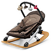 Concord Rio Baby Rocker with Toy Bar (Chocolate Brown)