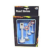 Kids Globe Traffic Road Series Traffic Signs and Speed Camera