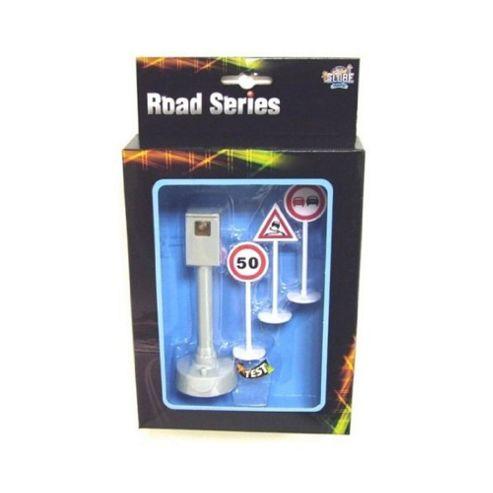 Kids Globe Traffic Road Series Traffic Signs and Speed Camera