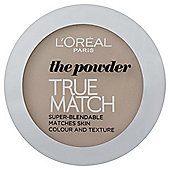 L'Oréal True Match Powder C1 Rose Ivory 9g