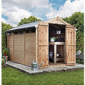 BillyOh 300 12x6 Wide Privacy Shed Range with Windows