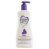Mum & Me Baby Ultra Mild Head To Toe Wash 500ml