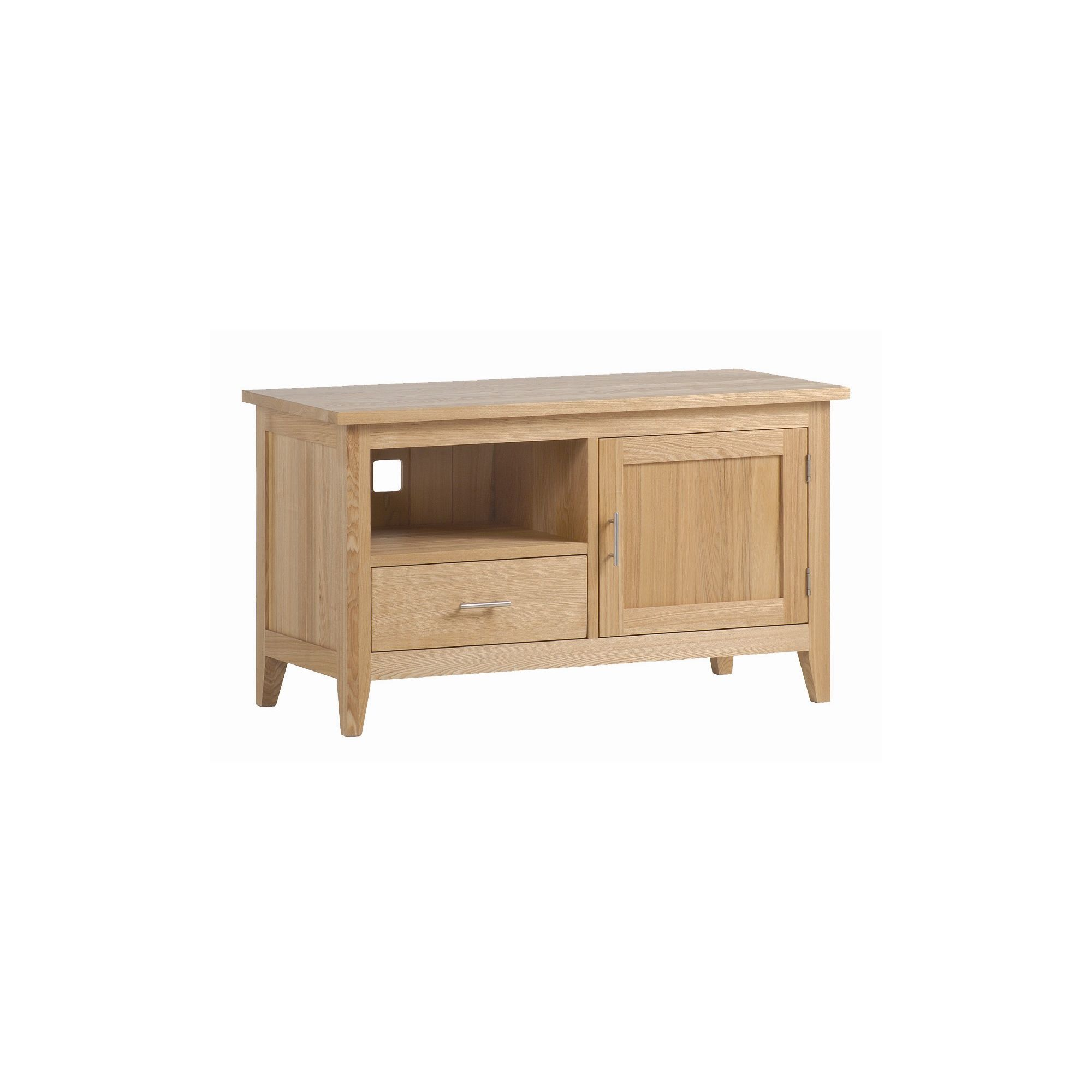 Kelburn Furniture Carlton Ash Wooden TV Cabinet with Cabinet Door at Tesco Direct