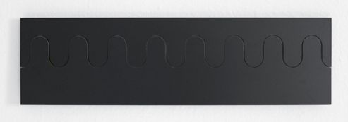 Karl Andersson & Soner Ponoq Coat Rack in Black / White - Large (14 cm H x 49.8 cm W x 1.6 - 5 cm D)