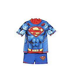 DC Comics Superman UPF 50+ Surf Suit years 03 - 04 Multi