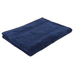 Tesco Hygro 100% Cotton Bath Sheet, Navy