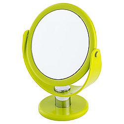 Tesco Basic Plastic Mirror, Lime