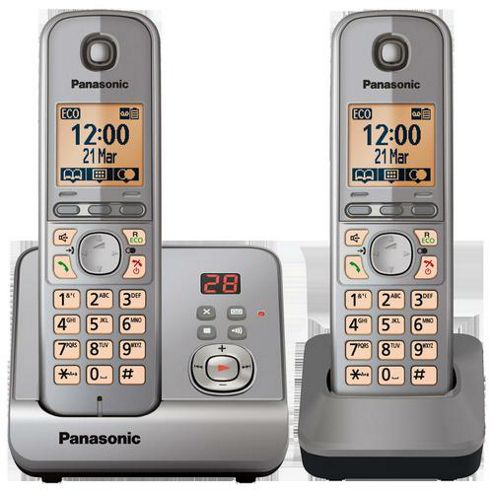 PANASONIC - Panasonic TG6722 DECT phone - twin