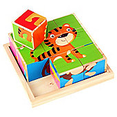 Carousel Wooden Animal Puzzle