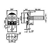 Min Linear Potentiometer 22K