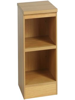 Enduro Two Shelf Bookcase - Beech